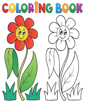 Hive Learning Aids Colouring books